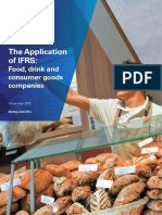 The Application of Ifrs Food Drink