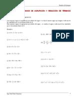 Álgebra 2 Signos de Agrupación