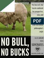 (PREVIEW) No Bull, No Bucks- The Vegan Philosopher's Cookbook