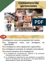 Competencias gerenciales interpersonales