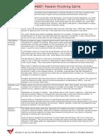 Feedlot Finishing Fact Sheet FINAL_4 26 06