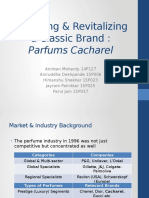Parfums Cacharel - Brand Management