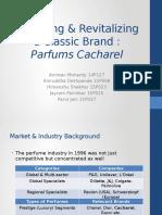Parfums Cacharel - Brand Management