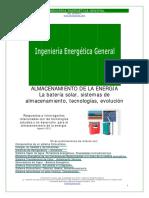 Almacenamiento Energia