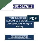 Uso de Tarjeta SD y MMC en La HP 50g (1)