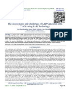 The Assessments and Challenges of LED Generated Data Traffic using Li-Fi Technology
