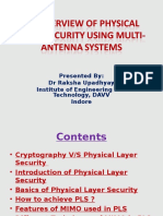 Presentation PHY Layer Security.pptx Revised
