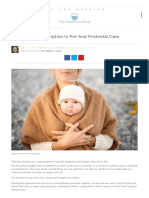 The Missing Prescription in Pre and Postnatal Care