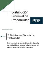Clase 7 Distribucion Binomial Multinomial