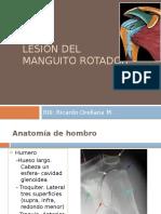 Lesion de Manguito Ricardo