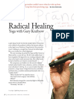 Article By Gary Kraftsow Radical healing