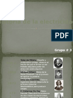 Historia de La Electricidad FINAL