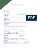 Script Matlab Soal Nomor 1
