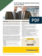 La Norme Internationale ISO 20022
