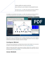 Como Usar MiniEdit Interface Gráfica Do Usuário Do Mininet