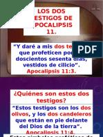 Quiénes Son Los Dos Testigos de Apocalipsis 11.