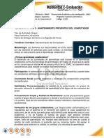 Guia Actividades Fase3 - ENSAMBLE Y MANTENIMIENTO