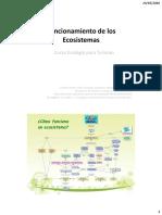 Funcionamiento de Los Ecosistemas