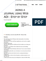 R12 Uploading a Journal Using Web ADI _ Step by Step - Oracle Techno & Functional
