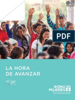 LA HORA DE AVANZAR - LILIAN SOTO - LINE BAREIRO - CDE - ANO 2016 - PORTALGUARANI