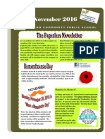 November 2016 Arklan Newsletter