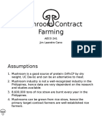 Mushroom Contract Farming