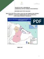 Resumen Ejecutivo Proceso de Titulacion Miskita Abril 2015-PATH II