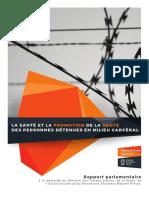Rapport parlementaire de la Députée Véronique SALVI