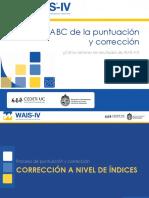 M3. El ABC de La Puntuación y Corrección