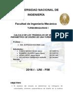Informe Turbomaquinas Antes de Parcial UNI FIM