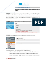 INSYS NA03 - Reset Monitoring App nos EBW e IMON