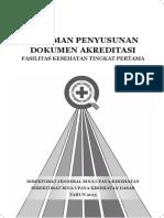 Pedoman Penyusunan Dokumen Akreditasi PDF