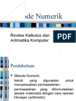 METNUM 2016 - 1.a. Aritmatika Komputer