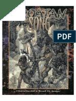 WOD - Werewolf - The Apocalypse - Croatan Song