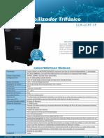 D-COME-07_Estabilizador LCR3F de 10 a 80KVA_Ieda PowerSafe