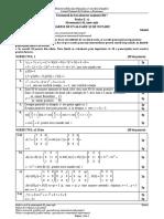 E c Matematica M Mate-Info Barem Model 2017