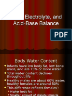GUS1 - K4 - Fluid, Electrolyt, Acid Base Balance GUS-K4