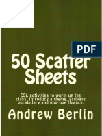 50 Scatter Sheets UK