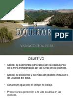 Dique Rio Rejo Presentacion 2014