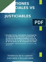 Cuestiones Justiciales vs No Justiciables-1