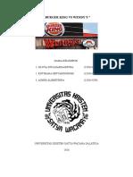 Wendy's vs Burger King.docx