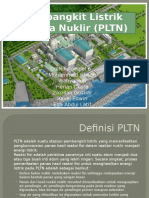 Presentasi Pembangkit Listrik Tenaga Nuklir PLTN