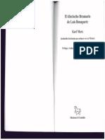 El dieciocho braumario de Luis Bonaparte. Karl Marx.pdf
