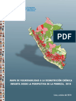 Mapa de Vulnerabilidad 2010