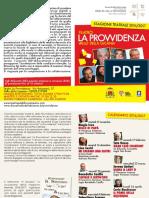 Calendario Teatro 16 17 Provvidenza Vallo della Lucania