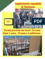"""Ampliamento ospedale """"SS. Annunziata"""" - Sulmona"""