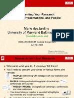 Presenting Research Dc Jul05
