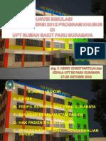 Paparan Akreditasi Rs Khusus Paru Surabaya (1)