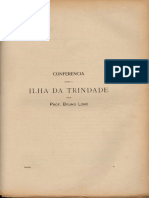 Bruno Lobo, 1918-1919. Ilha Da Trindade (Conferencias Feita Na Biblioteca Nacional)