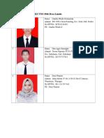 Biodata Mahasiswa KKN UNS 2016 Desa Lundo